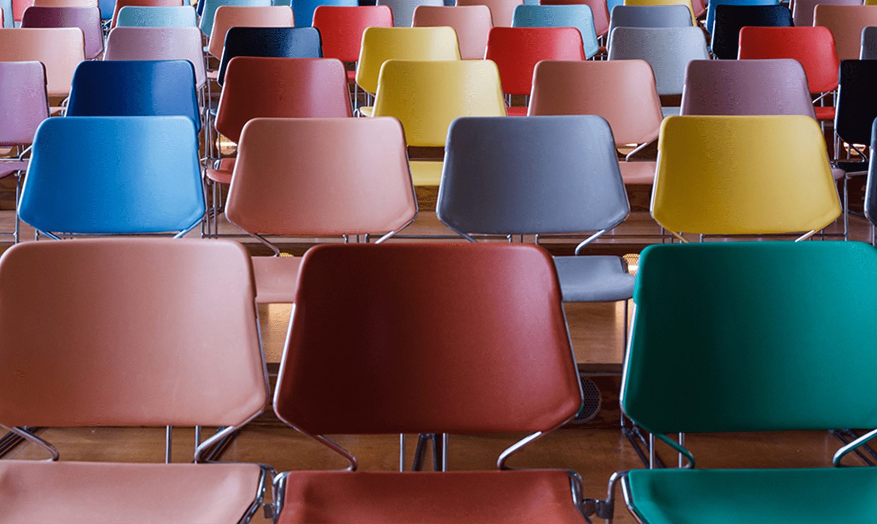 Insights Diversity Multi-Color Chairs