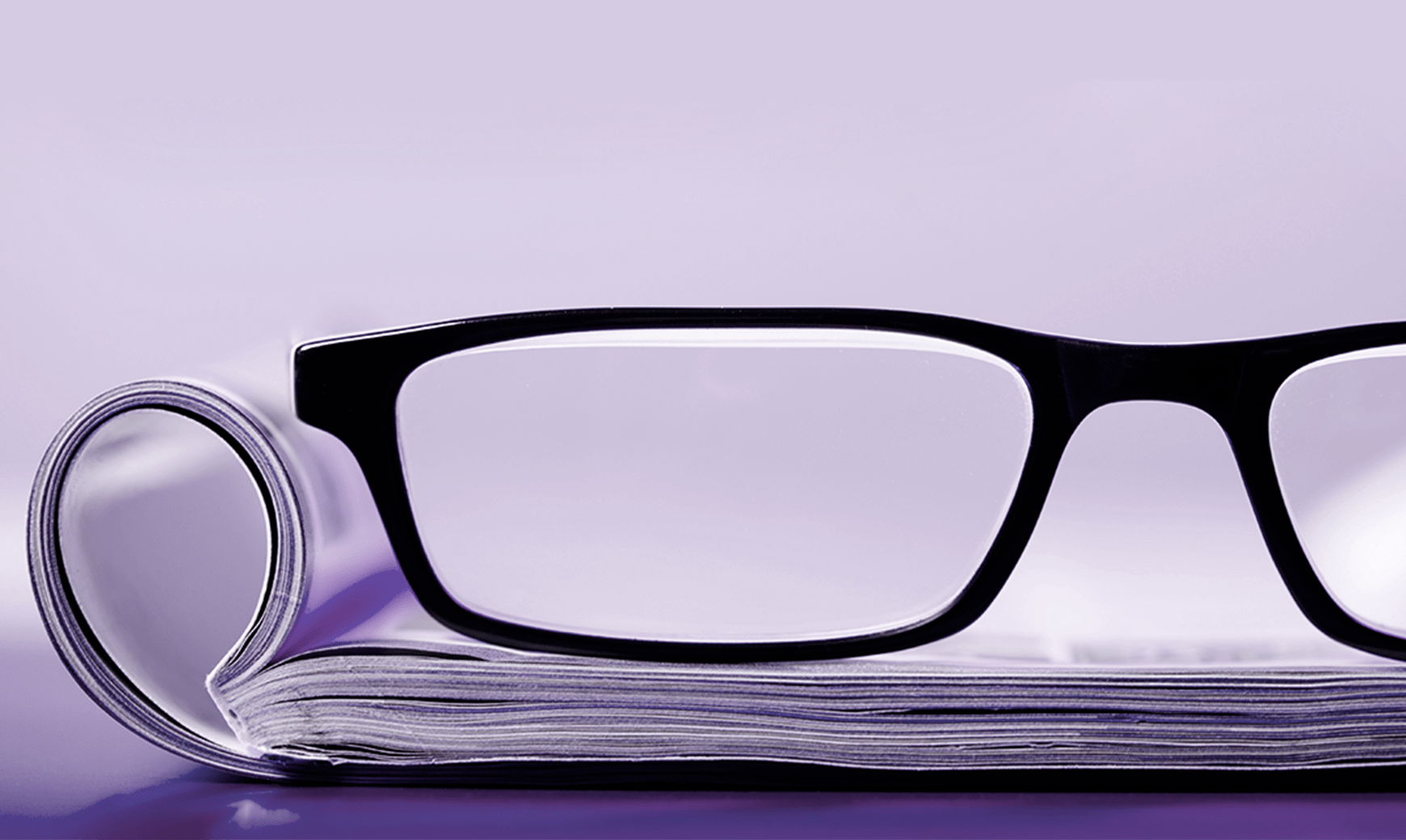 Insights Publication Magazine & Glasses